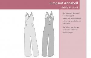 Schnittmuster-EBook Jumpsuit Annabell
